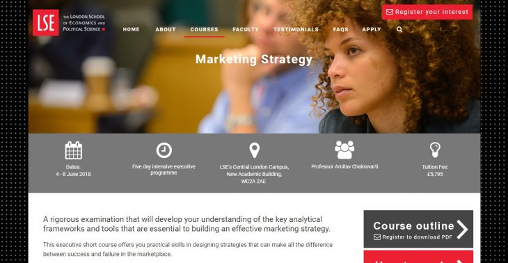 LSE 5-Day Marketing Strategy Course