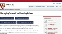 Harvard University Two-Day Leadership Development Course