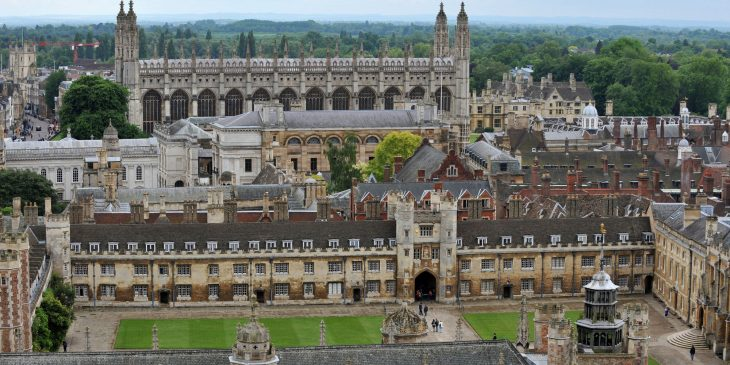 Cambridge University - Panoramic View