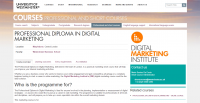 University of Westminster Offering a Professional Diploma in Digital Marketing