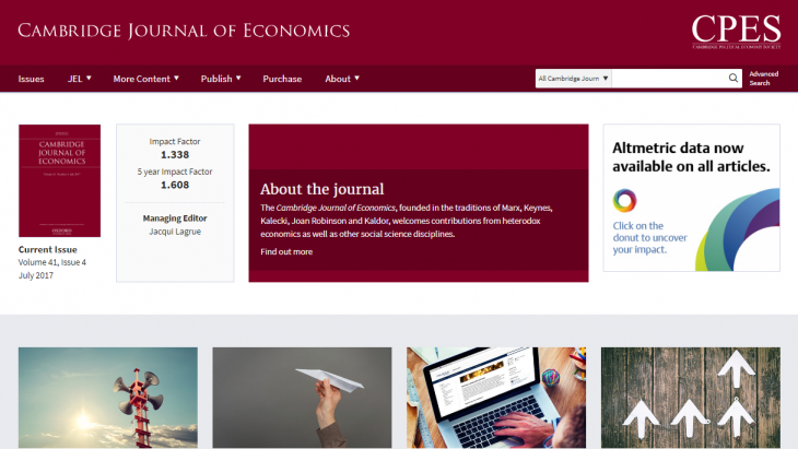 Cambridge Journal of Economics