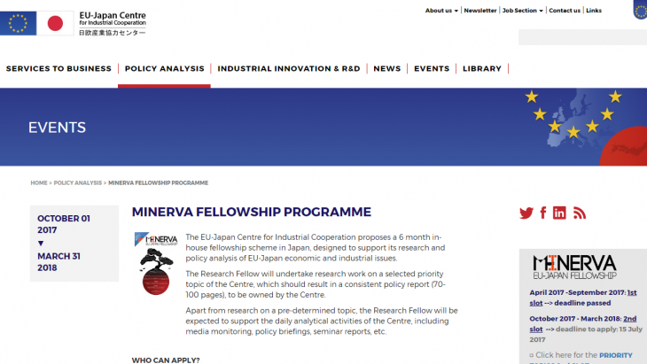 Minerva Fellowship Program