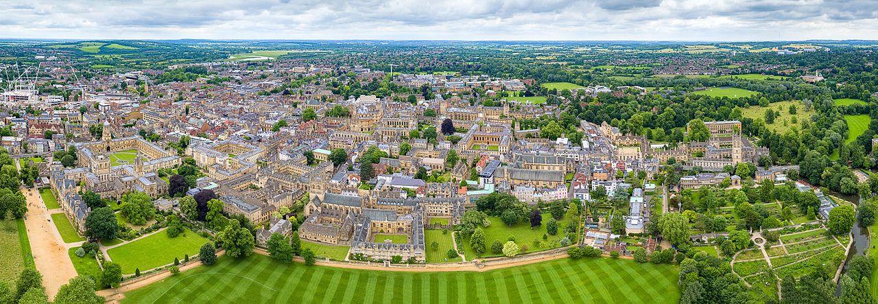 Oxford Univeersity - Aerial Panorama