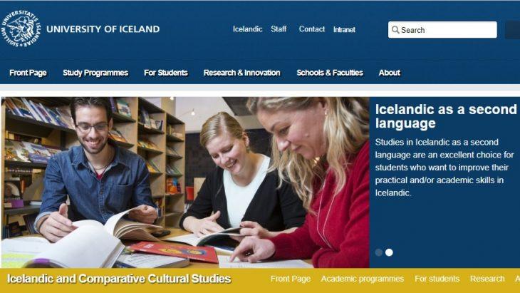 Icelandic Government Scholarships for Studying Icelandic Language