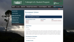 Fulbright US Student Program