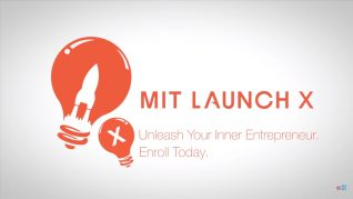 MIT Launch X Becoming an Entrepreneur