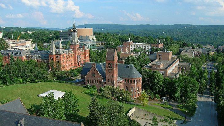 Cornell University - Ho Plaza and Sage Hall