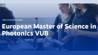 European Master of Science in Photonics VUB