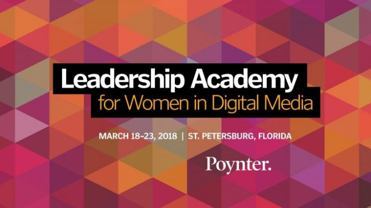 Leadership Academy for Women in Digital Media, 2018