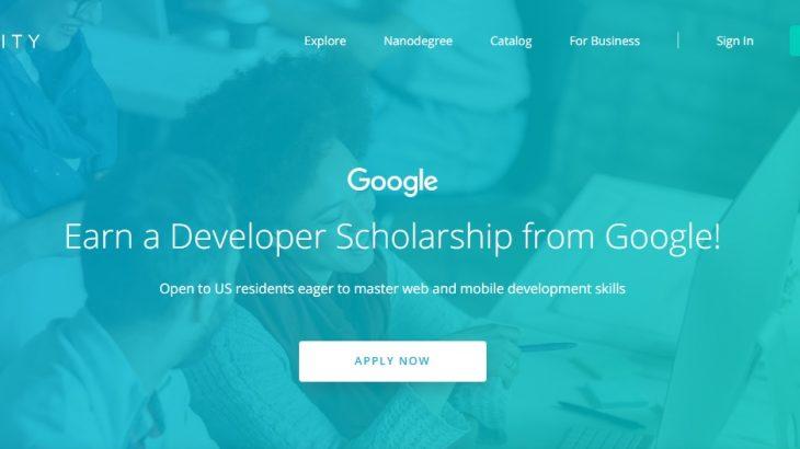 Google Developer Scholarships