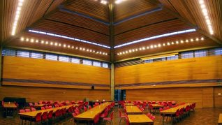 Wolfson College Oxford Dinning Hall
