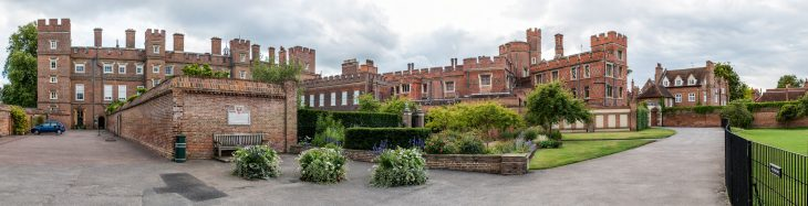 Eton College - Outside - Panorama