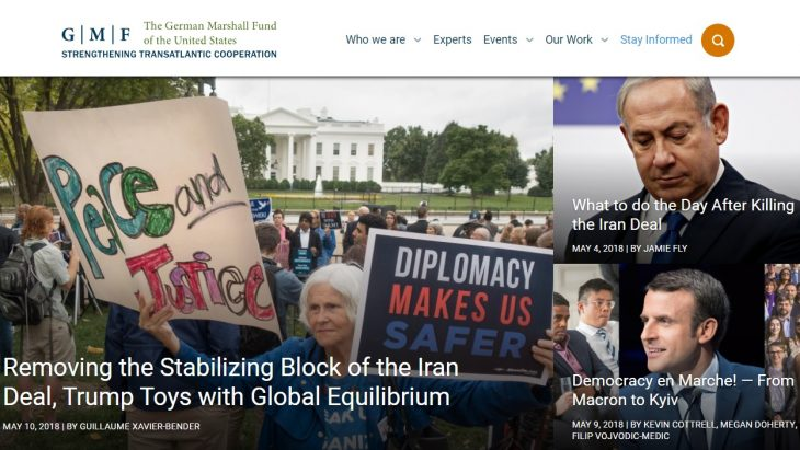 The German Marshall Fund Call for Applications - Confidence Building