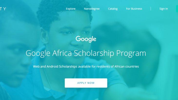 Udacity Google Africa Scholarships