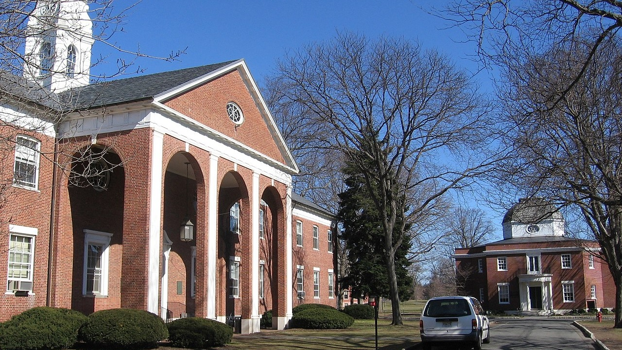 Lawrenceville School - Father's Hall and the Mackenzie Building