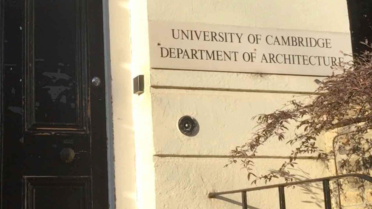 University of Cambridge - Department of Architecture