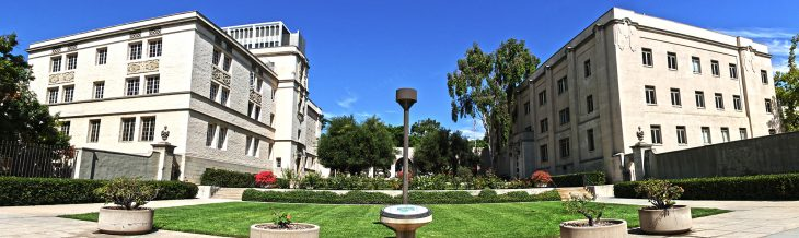 Caltech campus entrance