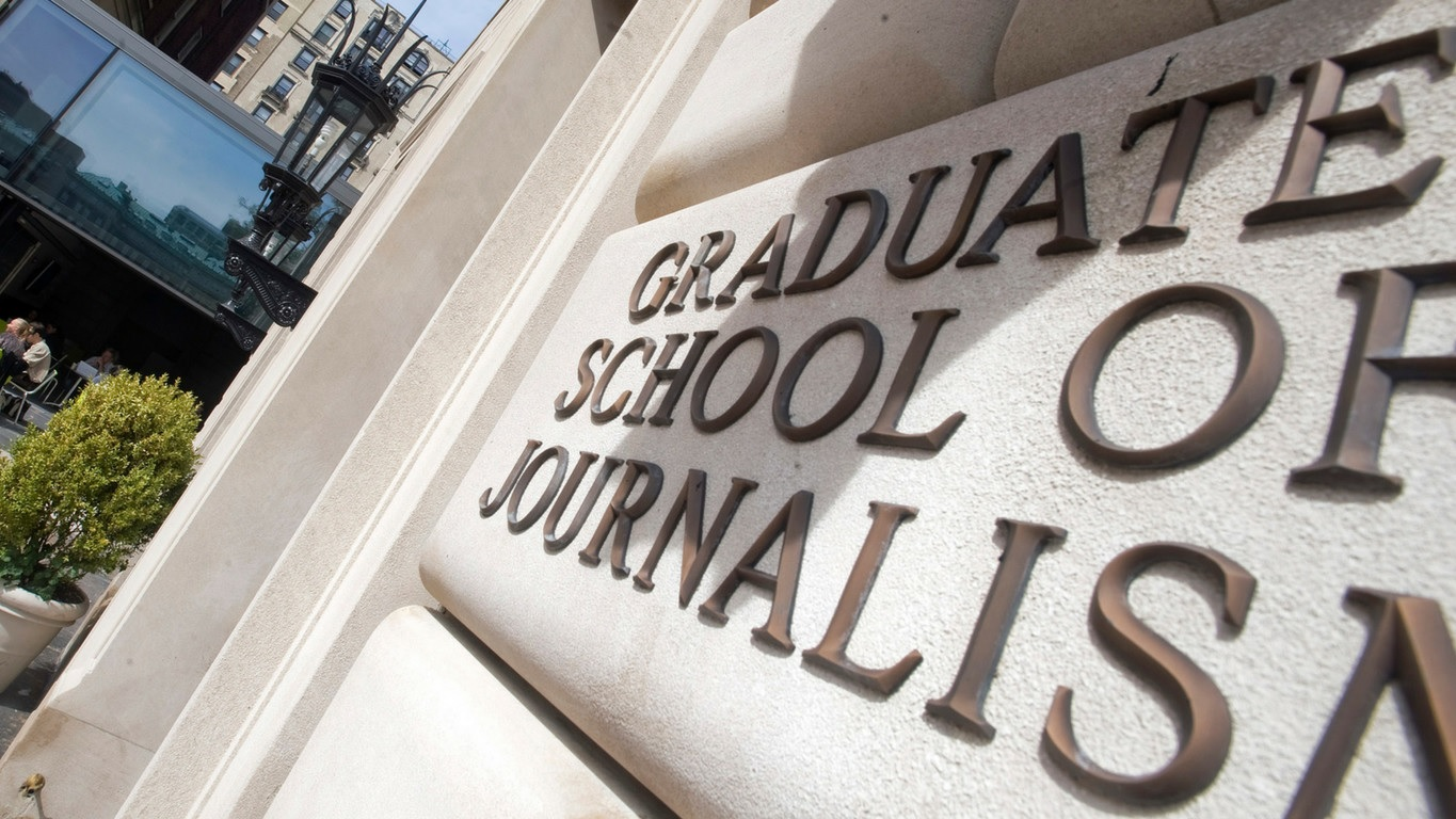 Columbia University Graduate School of Journalism Sign