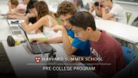 Harvard Summer School – Pre-College Program admissions