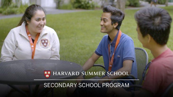 Harvard Summer School – Secondary School Program