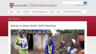 Women in Global Health LEAD Fellowship