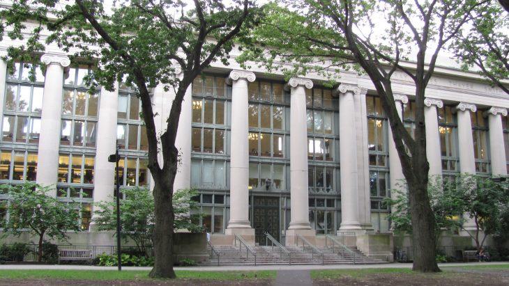 Harvard Law School Library - Langdell Hall